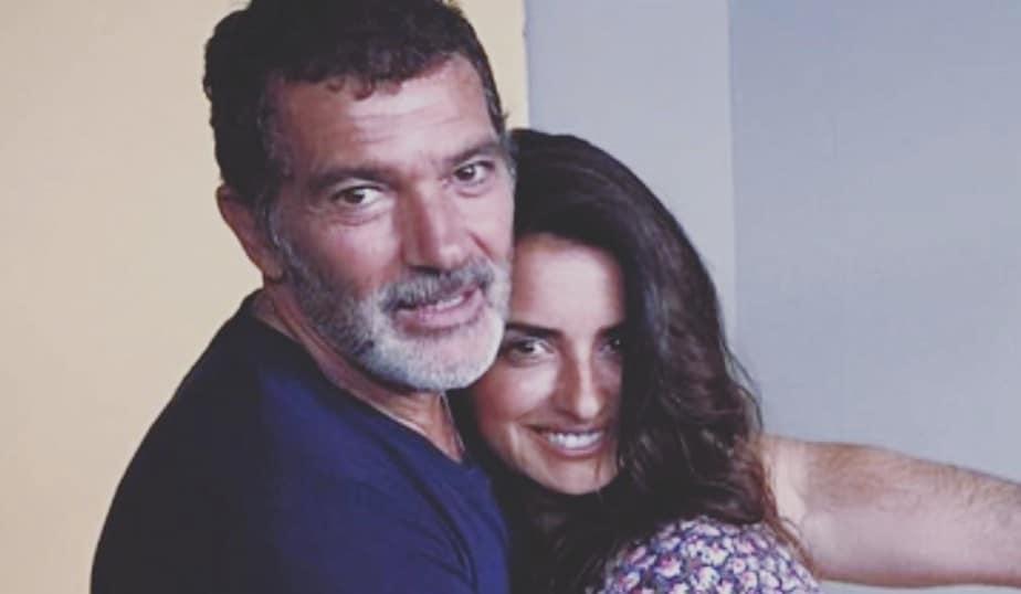 Foto Penélope Cruz y Antonio Banderas