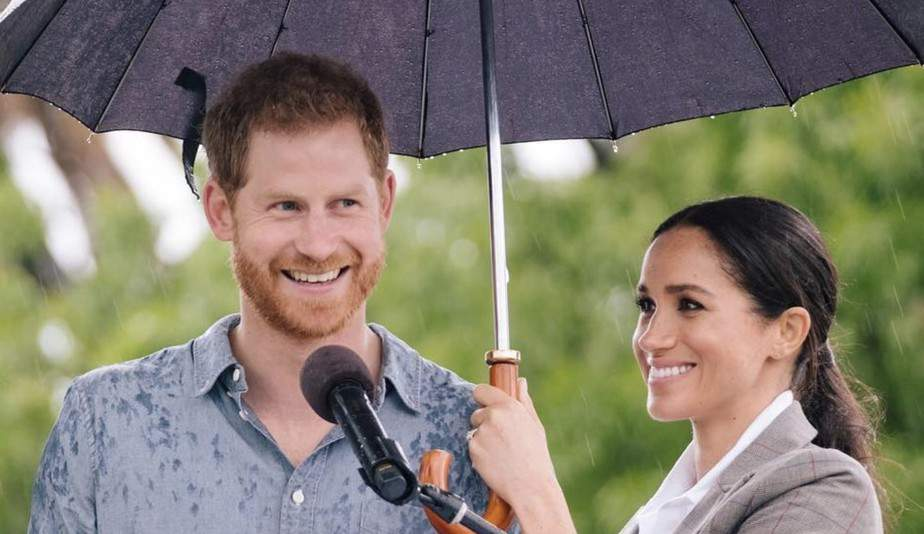 Foto Meghan y Harry