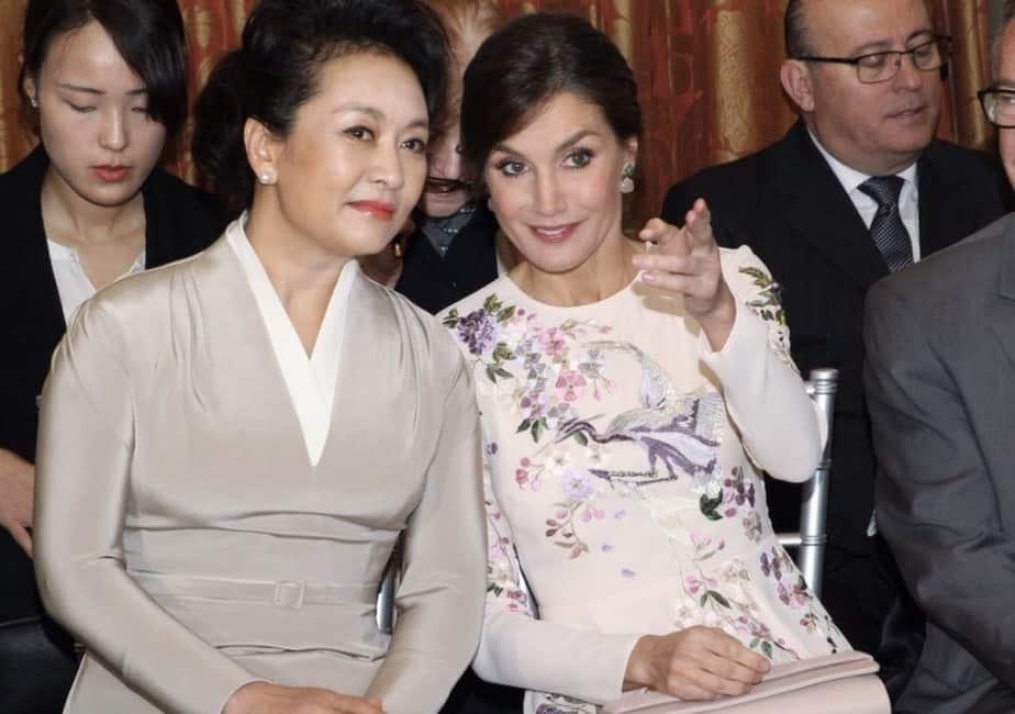Foto Letizia primera dama china