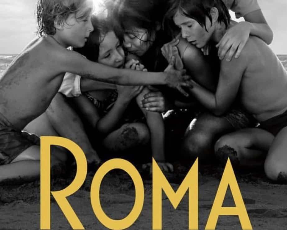 Poster de Roma de Alfonso Cuarón