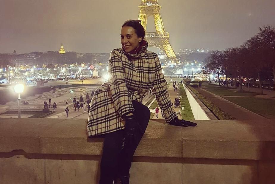 Foto de Mónica Naranjo en París.