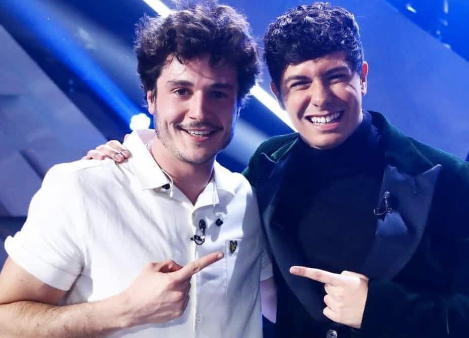 Foto Alfred García y Miki Eurovisión