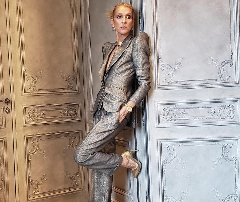 Céline Dion en París.