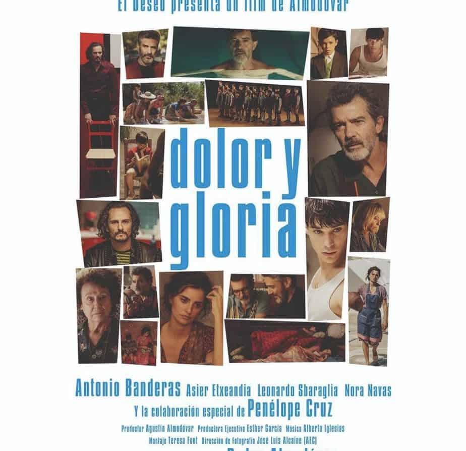 Dolor y Gloria Almodóvar