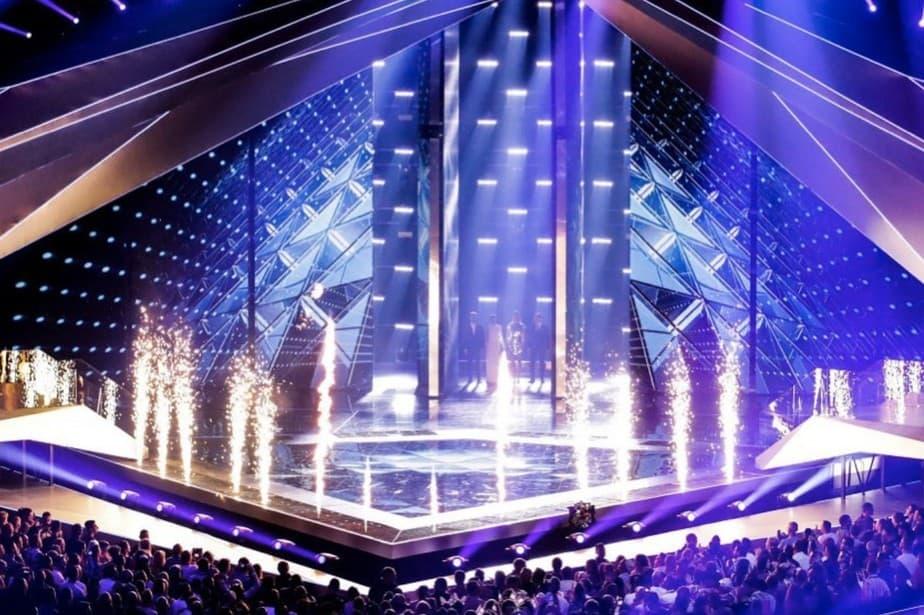 Foto escenario Festival Eurovisión 2019.